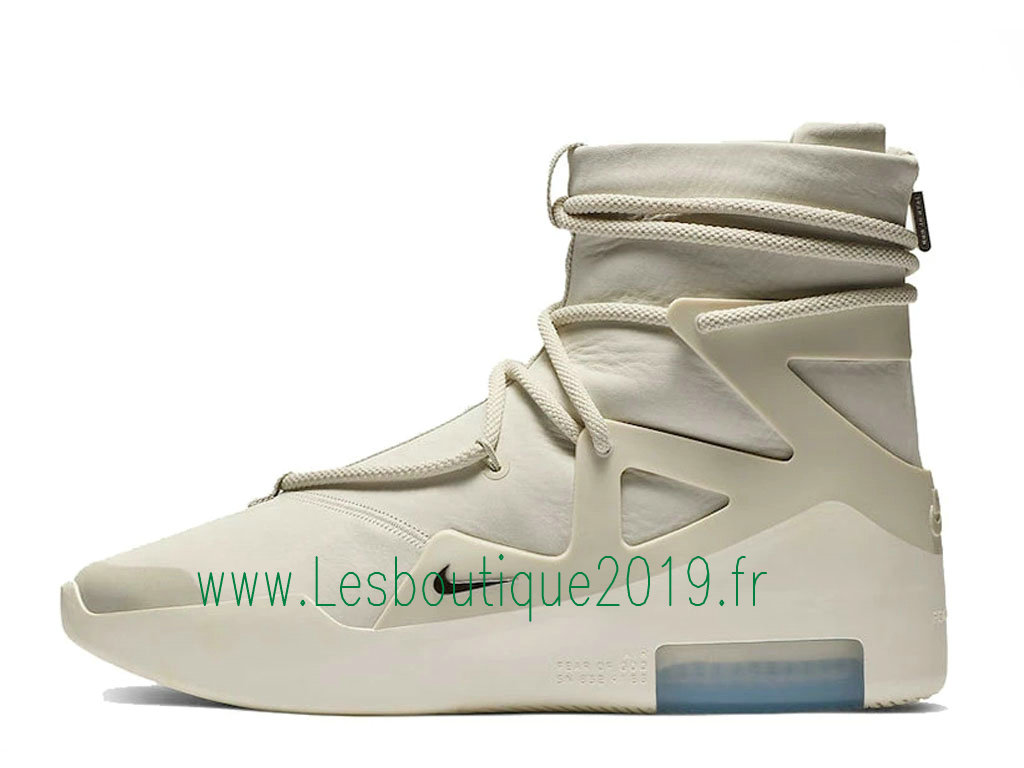 Nike Air Fear Of God 1 Light Bone Chaussures Nike Pas Cher Pour Homme AR4237-002