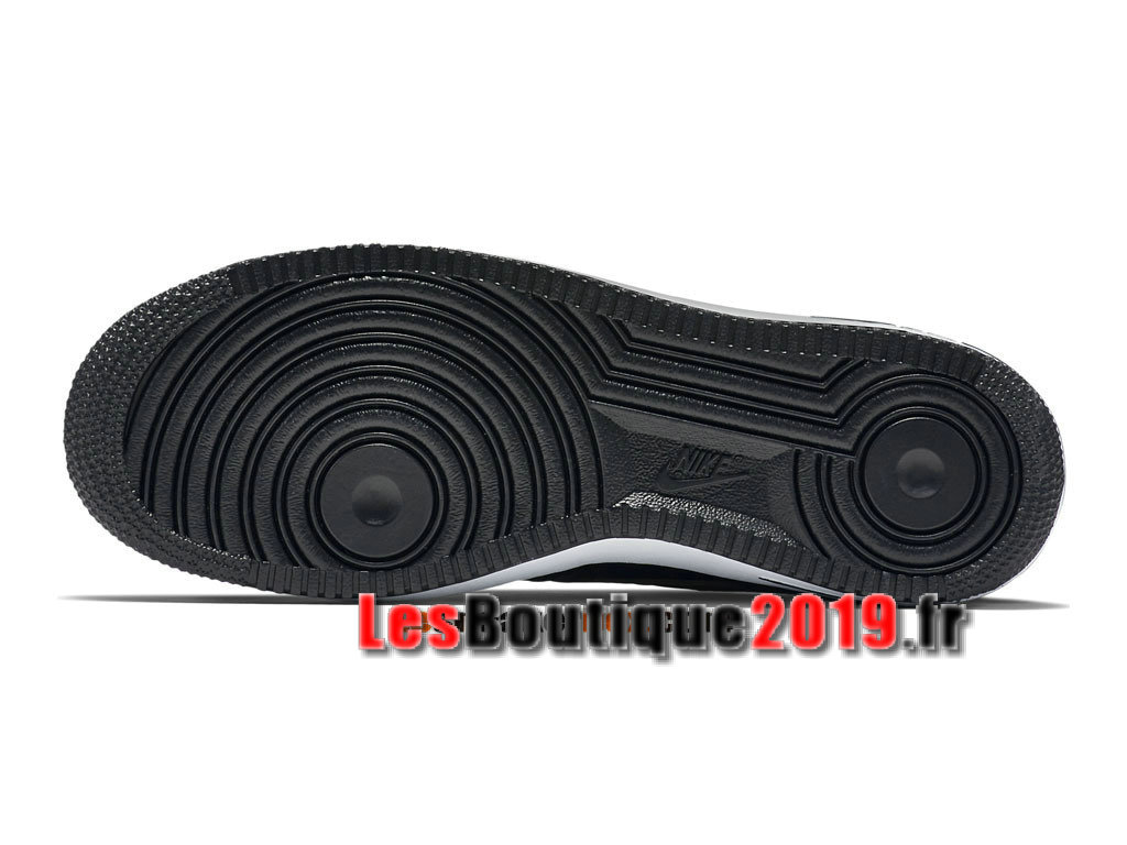 Nike Air Force 1 07 LV8 Low Chaussures Nike Basket Pas Cher Pour Homme Noir Or 718152-003