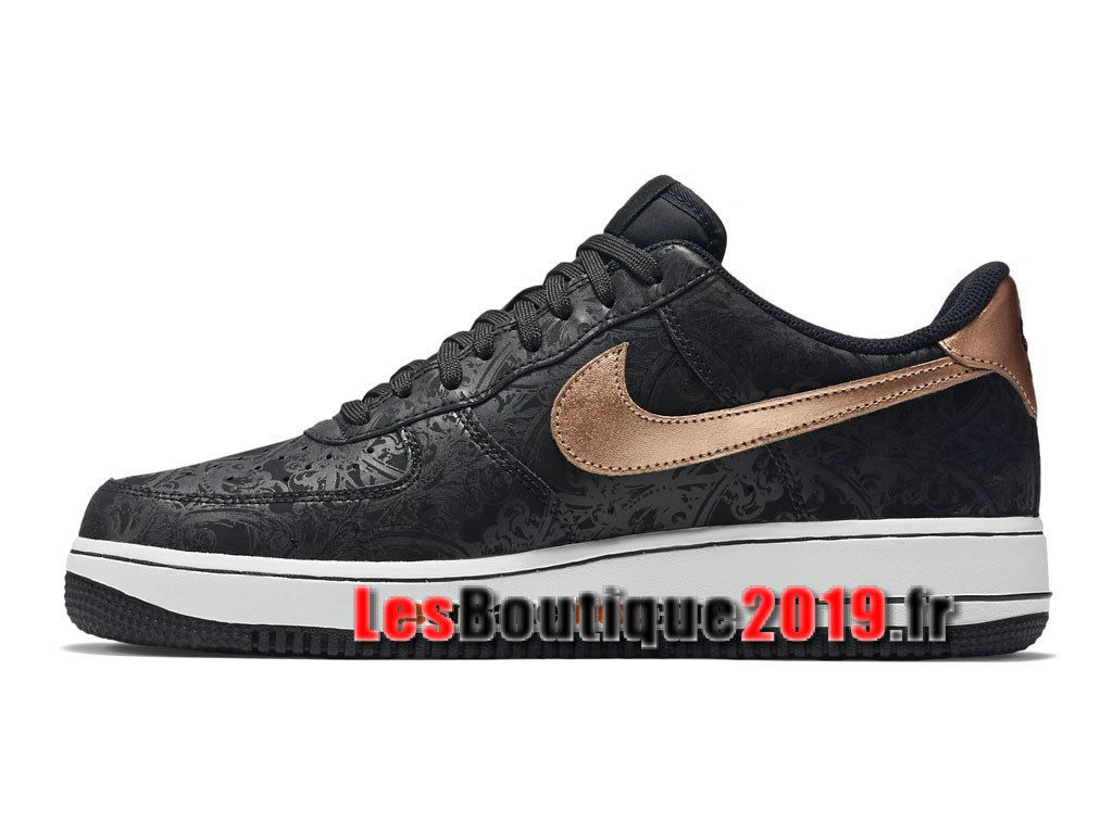 580cad0496a ... Nike Air Force 1 07 LV8 Low Men´s Nike BasketBall Shoes Black Gold  718152 ...