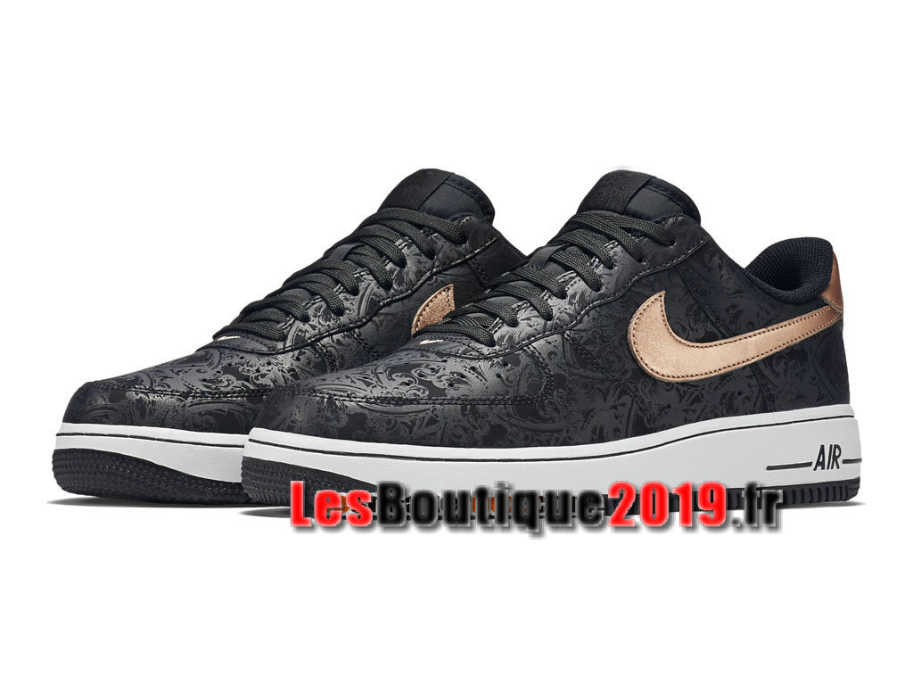 2912ece1637 ... Nike Air Force 1 07 LV8 Low Men´s Nike BasketBall Shoes Black Gold  718152