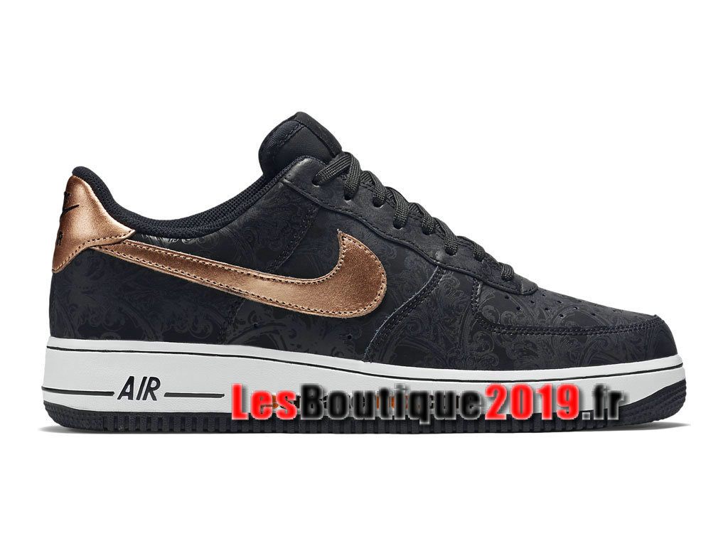716465e7948 Nike Air Force 1 07 LV8 Low Men´s Nike BasketBall Shoes Black Gold 718152  ...