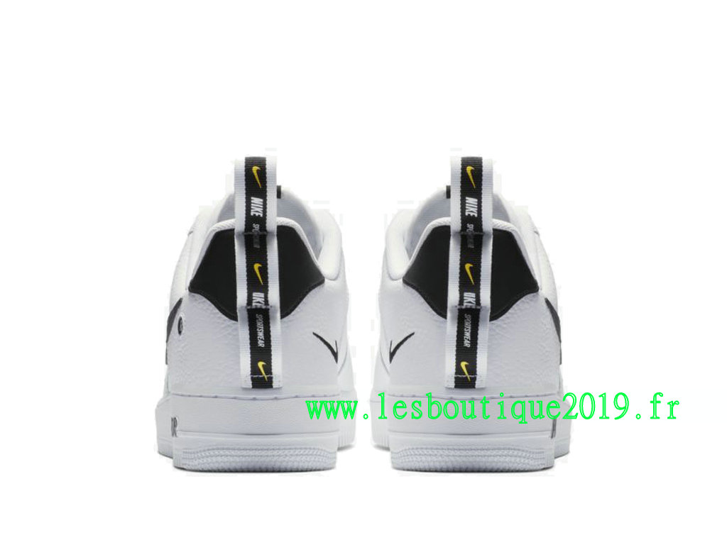 size 40 e8259 27aa9 ... Nike Air Force 1 ´07 LV8 Utility White Black Men´s Nike Sneaker Shoes