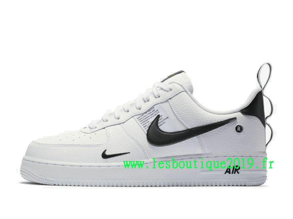 19226d652c6 Nike Air Force 1 ´07 LV8 Utility White Black Men´s Nike Sneaker Shoes ...