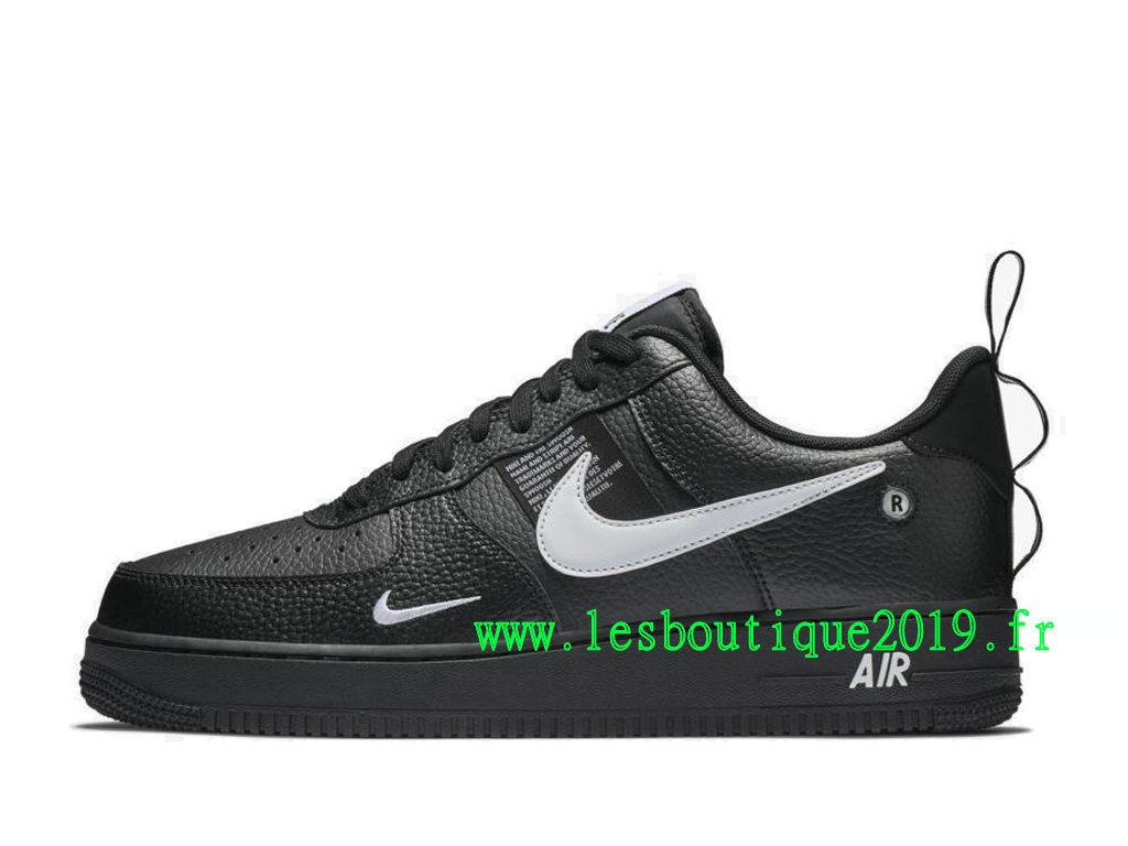 793b73ddd27 Nike Air Force 1 ´07 LV8 Utility Black White Men´s Nike Sneaker Shoes