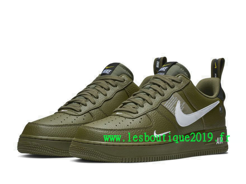 Nike Air Force 1 ´07 LV8 Utility Vert Blanc Chaussures Nike Sneaker Pas Cher Pour HoAJ7747-300