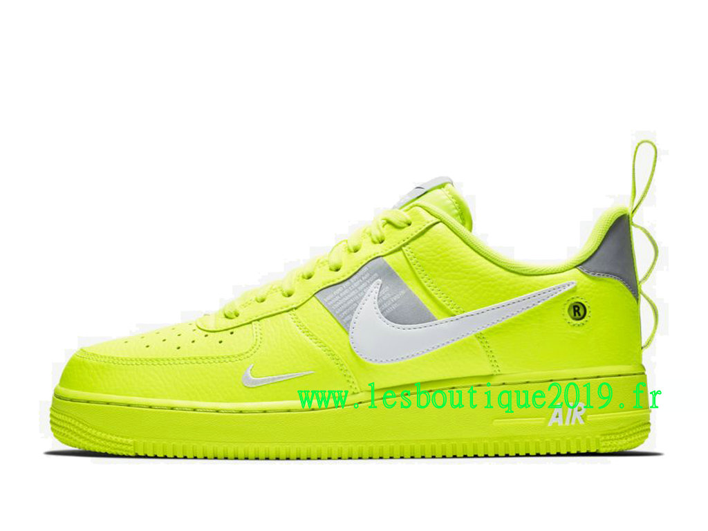Nike Air Force 1 ´07 LV8 Utility Vert Noir Chaussures Nike Sneaker Pas Cher Pour HoAJ7747-700