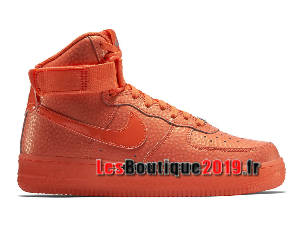Nike Air Force 1 Hi Premium Chaussures Nike Running Pas Cher Pour Homme Orange 654440-800H