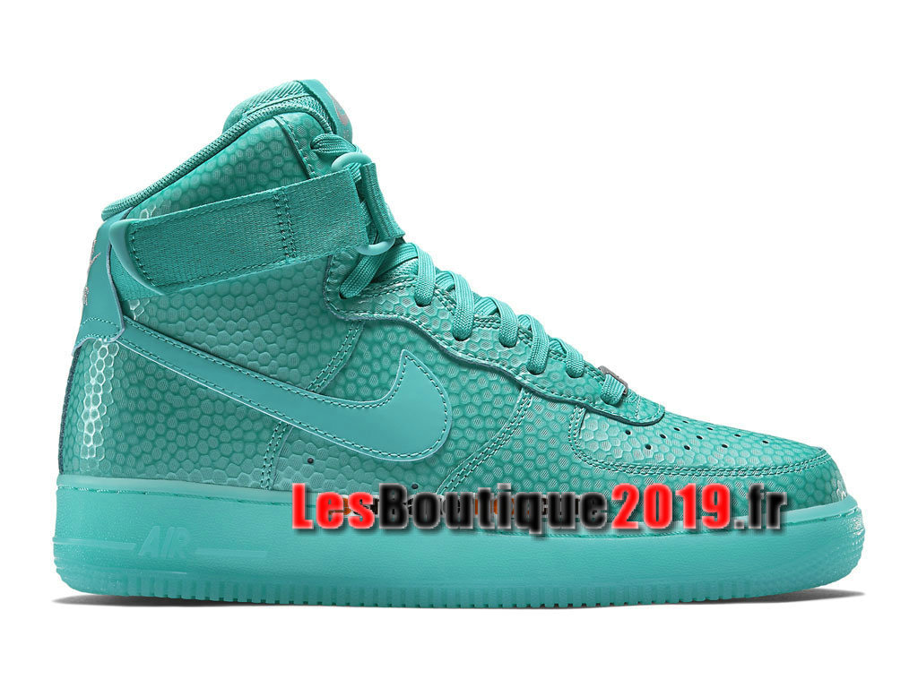 Nike Air Force 1 Hi Premium Chaussures Nike Running Pas Cher Pour Homme Vert 654440-400H