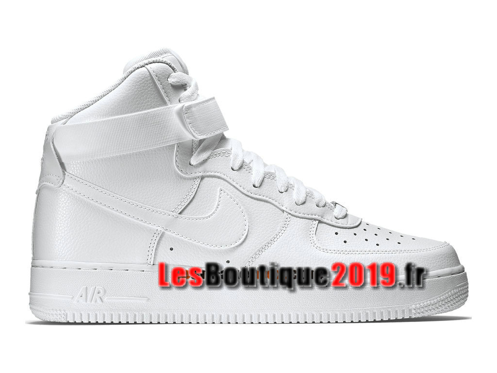 Nike Air Force 1 High 07 Chaussures Nike Sportswear Pas Cher Pour Homme Blanc 315121-115