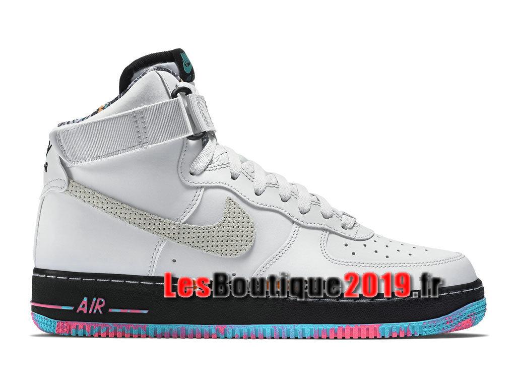 nouvelle arrivee f88ac fc217 Nike Air Force 1 High 07 Chaussures Nike Sportswear Pas Cher Pour Homme  Blanc Noir 315121-030 - 1809030660 - Achetez de Chaussure de Baskets ! Nike  en ...