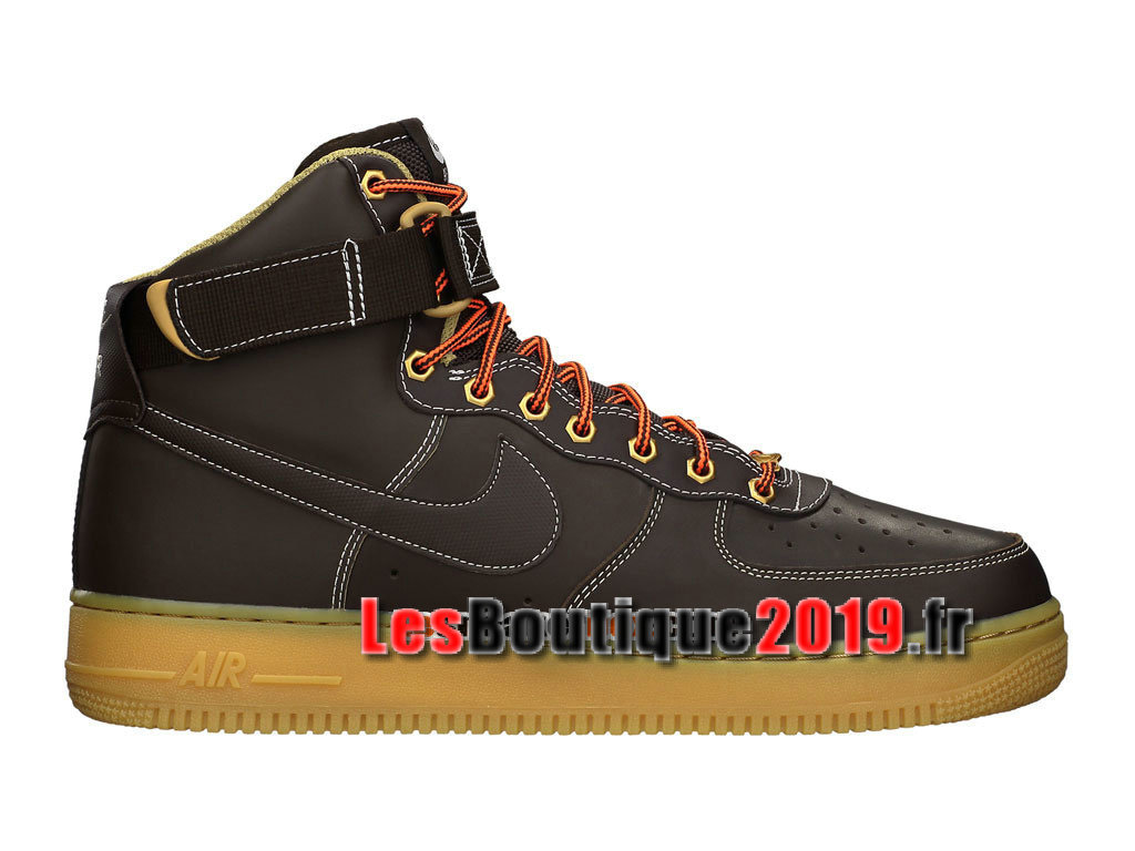 Nike Air Force 1 High 07 Chaussures Nike Sportswear Pas Cher Pour Homme Brun 315121-203
