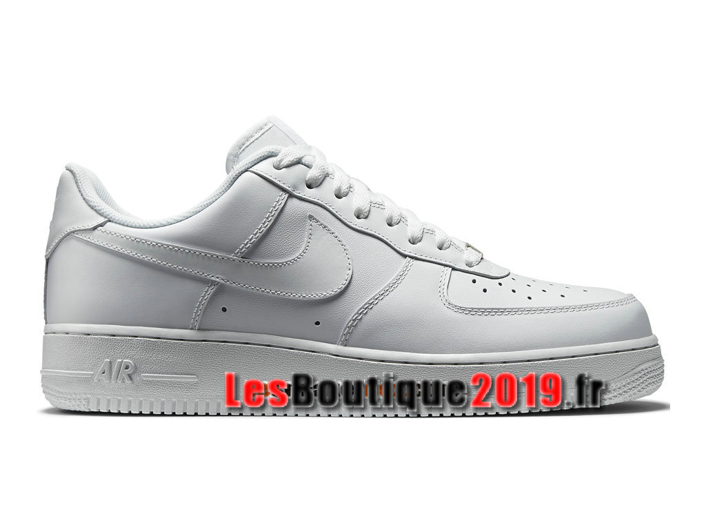 Nike Air Force 1 Low Chaussures Nike Sportswear Pas Cher Pour Homme Blanc 315122-111
