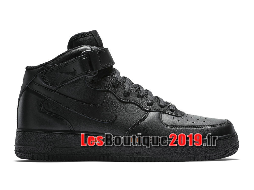 Nike Air Force 1 Mid 07 Chaussures Nike Sportswear Pas Cher Pour Homme Noir 315123-001