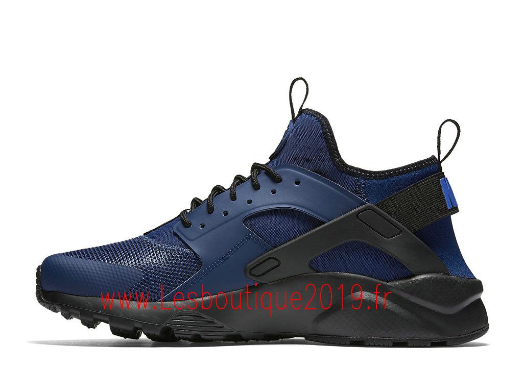 premium selection 074d8 e6895 ... Nike Air Huarache Ultra Chaussures nike pas cher Pour Homme Bleu  819685402 ...