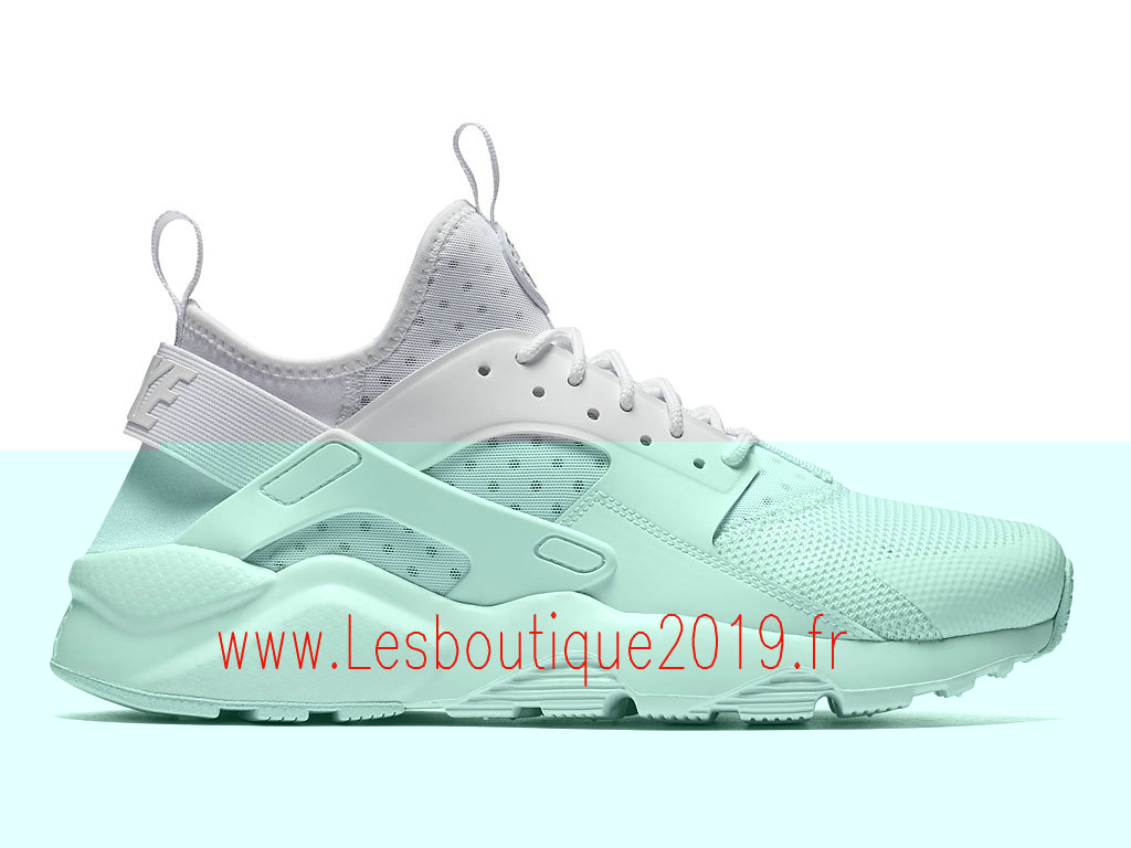 Nike Air Huarache Ultra Chaussures Officiel Running Pas Cher Pour Homme Blanc 819685_101