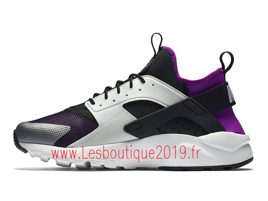 Nike Air Huarache Ultra Chaussures Officiel Running Pas Cher Pour Homme Gris 819685_005