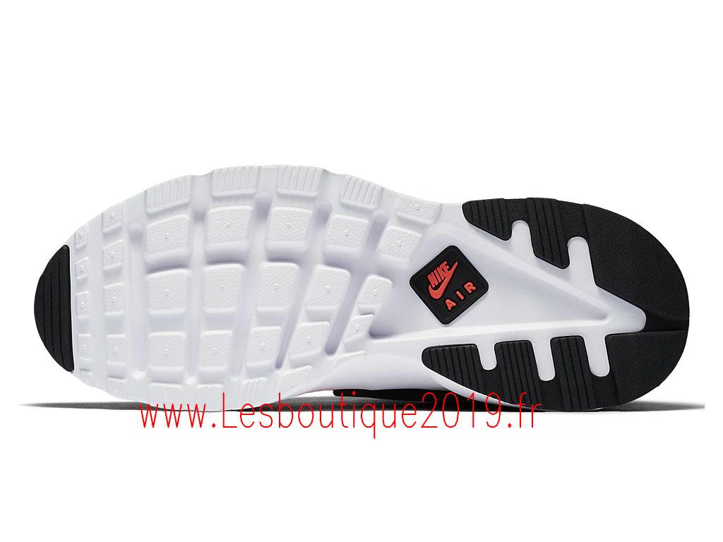 sports shoes 13fef 83b7d ... Nike Air Huarache Ultra Chaussures Officiel Running Pas Cher Pour Homme  Orange Noir 819685 008 ...
