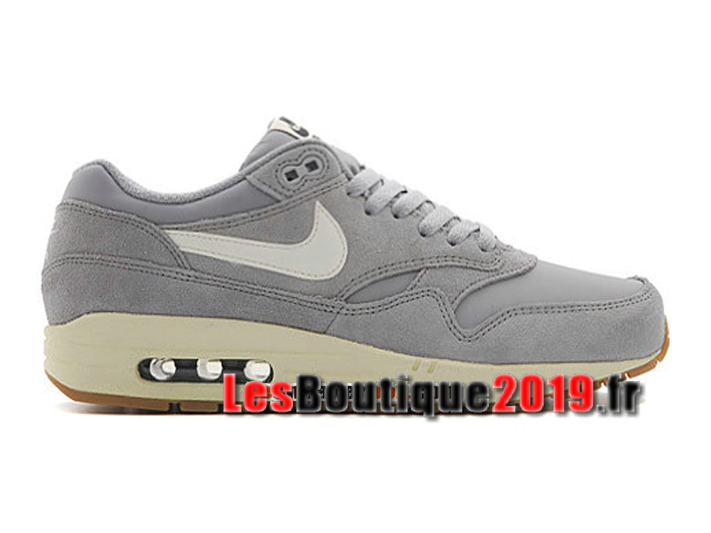 new product 8ff01 a5c30 Nike Air Max 1 87 Essential Gery White Men´s Nike BasketBall Shoes 537383