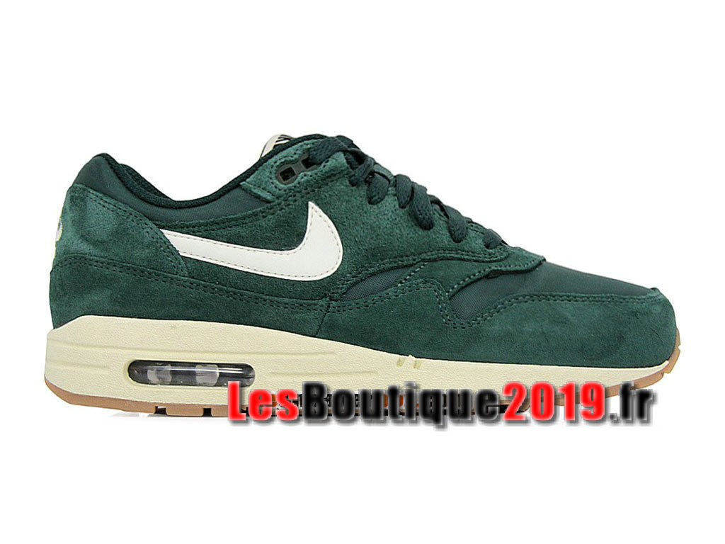 outlet store c87a1 a314c Nike Air Max 1 87 Essential Green White Men´s Nike BasketBall Shoes 537383
