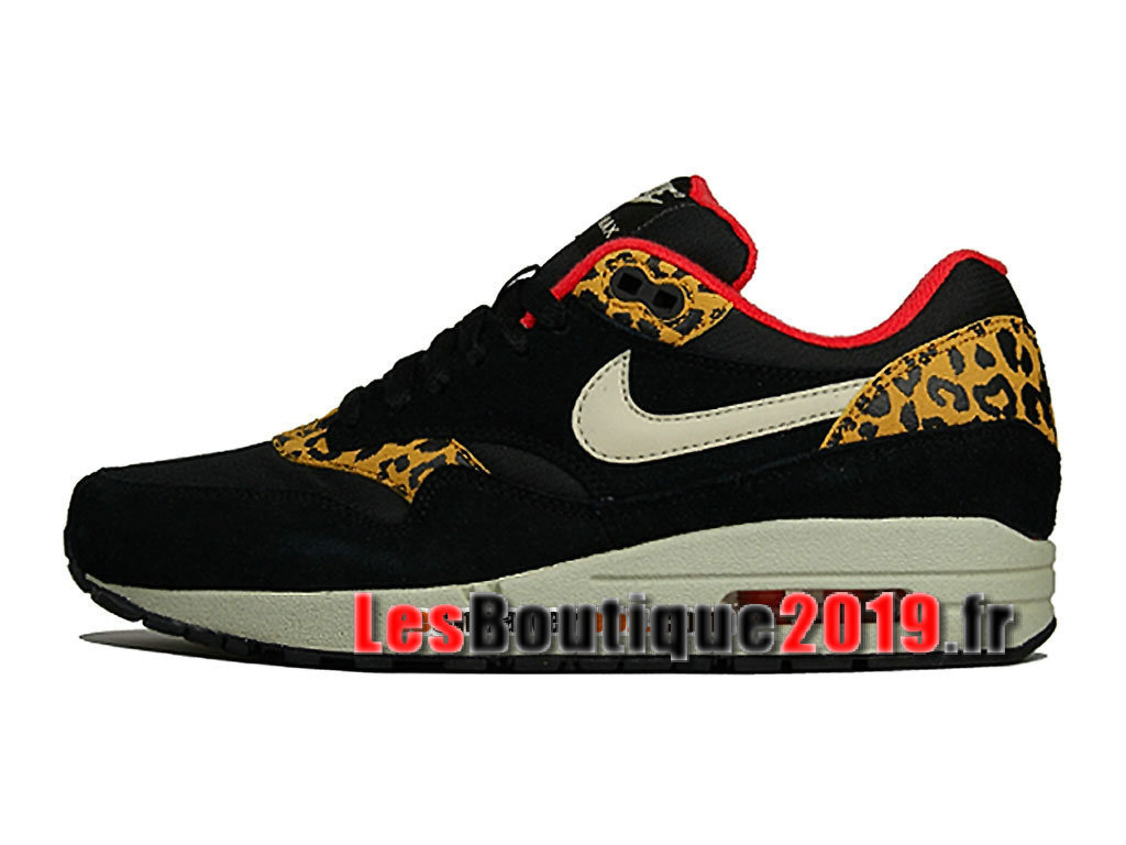 Nike Air Max 1/87 Leopard Pack Chaussures de BasketBall Pas Cher Pour Homme 319986-026H