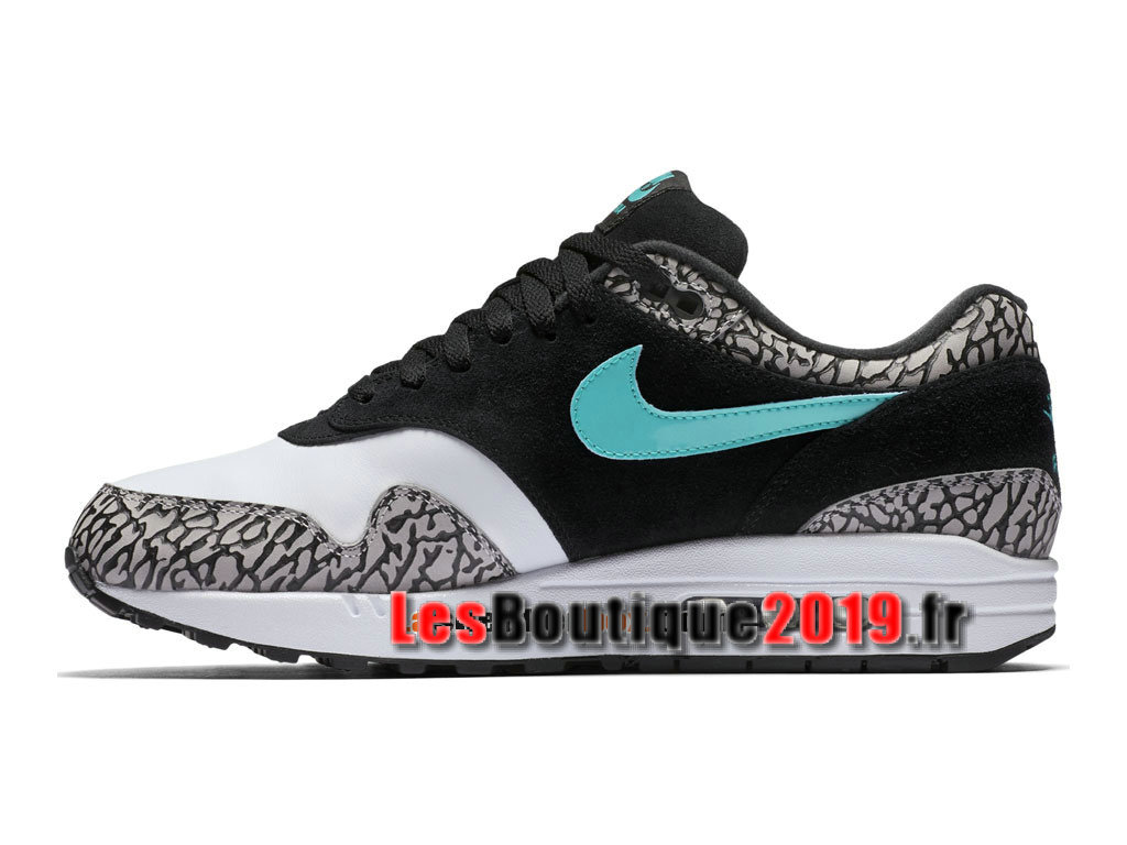 buy online 4f880 ab69f ... Nike Air Max 1 Premium Retro x Atmos (GS) Gery Black Women´s ...