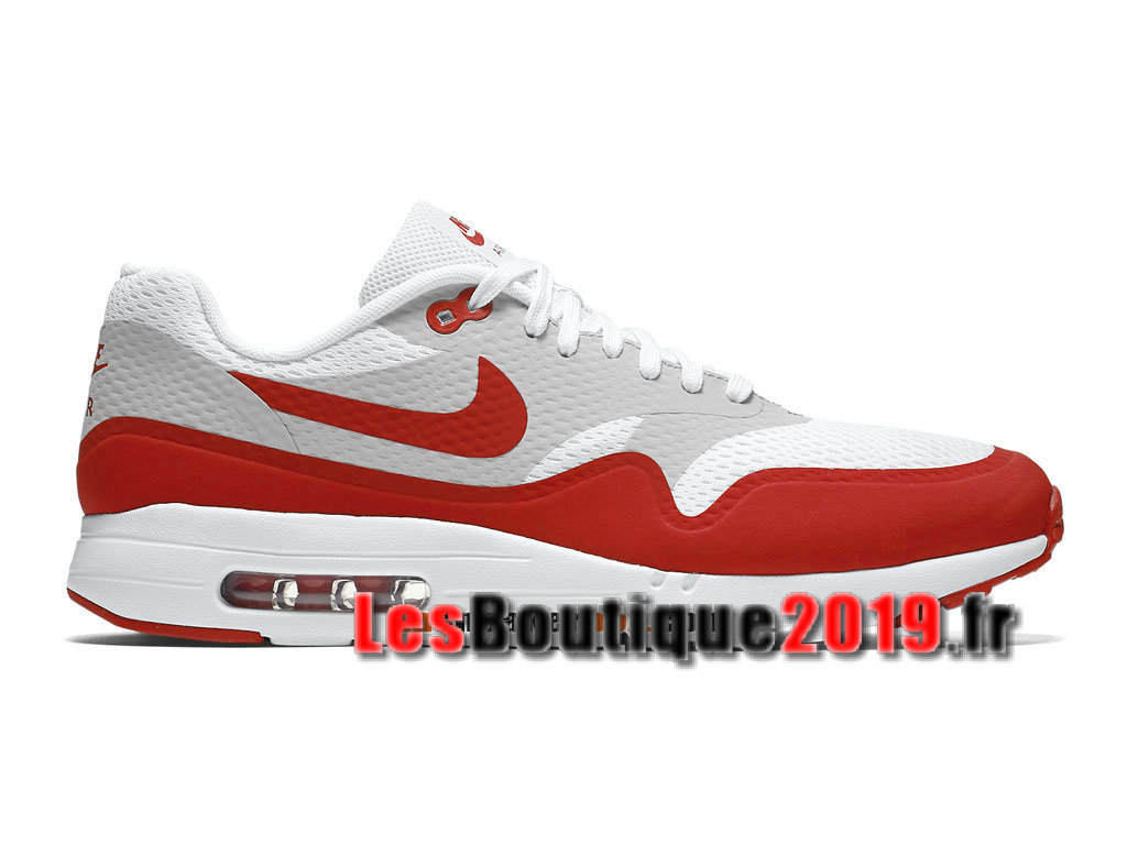 7d052cfcda6 Nike Air Max 1 Ultra Essential White Red Men´s Nike BasketBall Shoes  819476- ...