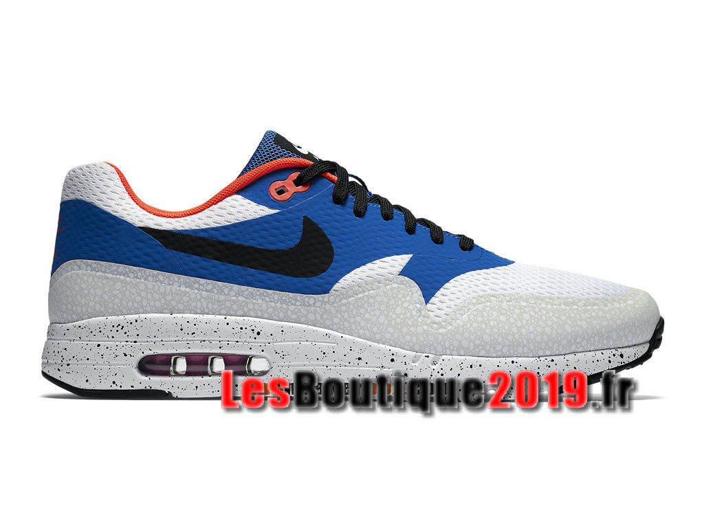 3bd13307750 Nike Air Max 1 Ultra Essential Bleu Blanc Men´s Nike BasketBall Shoes  819476- ...