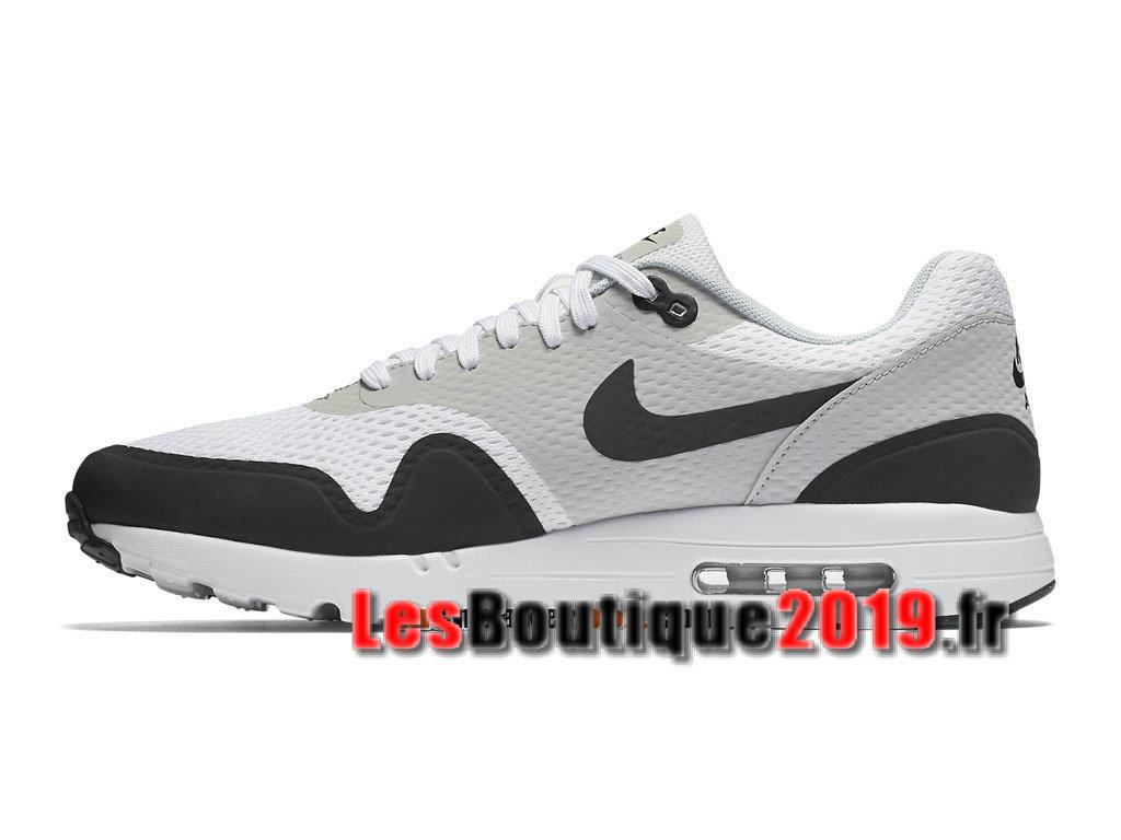 hot sale online 088cf 20521 ... Nike Air Max 1 Ultra Essential Noir Blanc Chaussures de BasketBall Pas  Cher Pour Homme 819476 ...