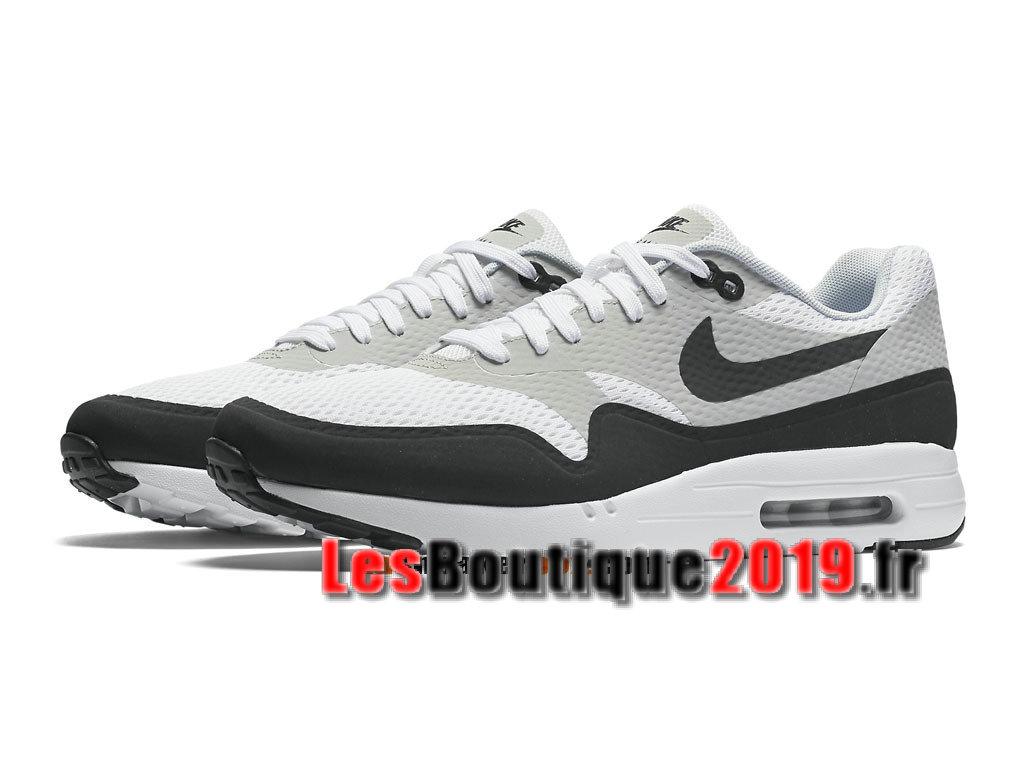 save off 0ce5d 4d47e ... Nike Air Max 1 Ultra Essential Noir Blanc Chaussures de BasketBall Pas  Cher Pour Homme 819476. Image Grand