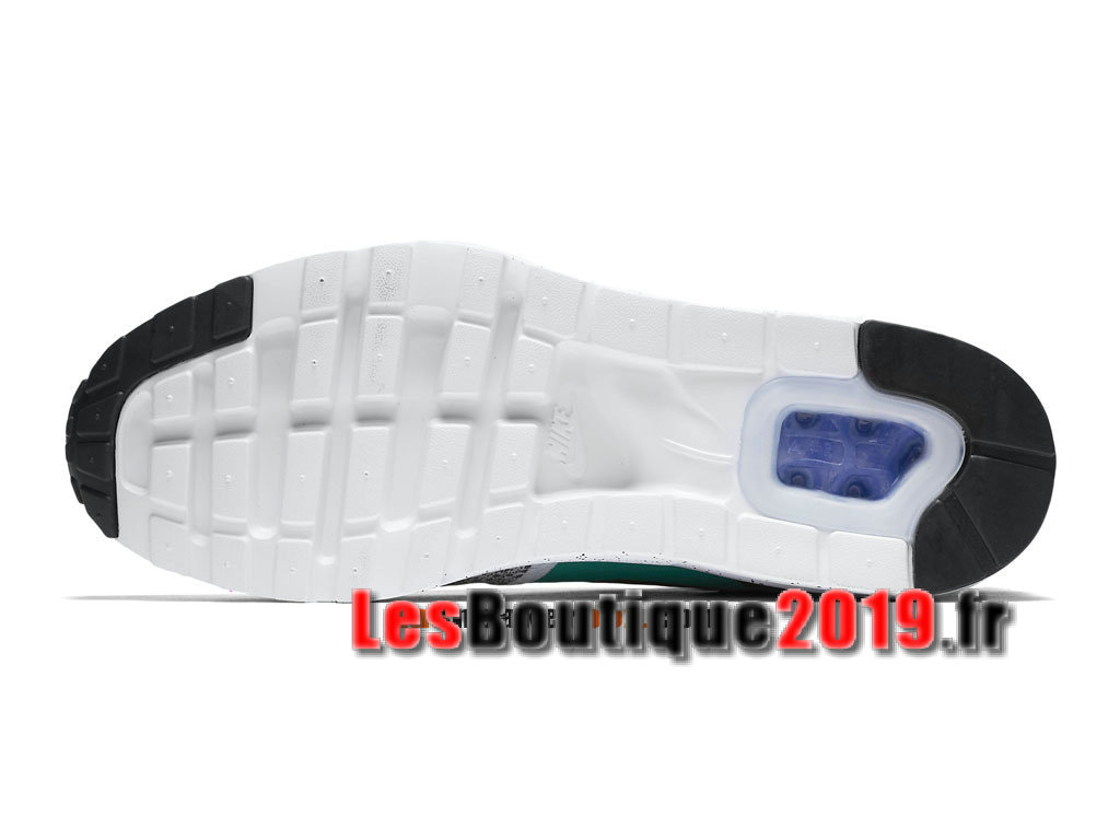 size 40 21f46 55115 ... Nike Air Max 1 Ultra Essential Vert Gris Chaussures de BasketBall Pas  Cher Pour Homme 819476 ...