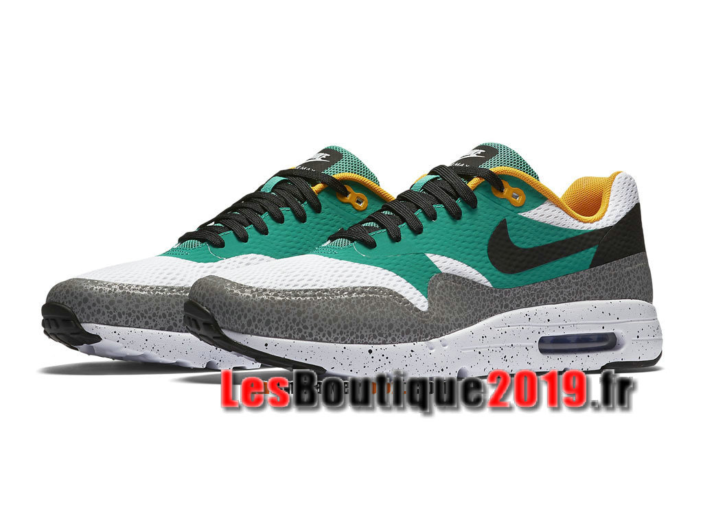1e3b5ea4751 ... Nike Air Max 1 Ultra Essential Vert Gris Men´s Nike BasketBall Shoes  819476-