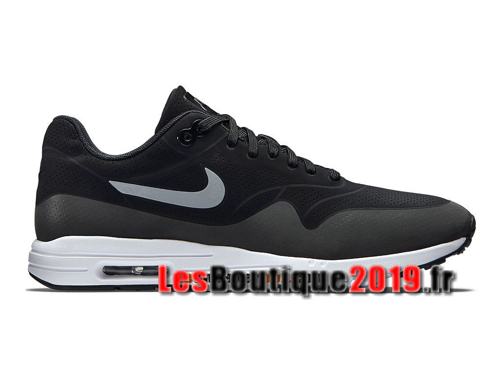 pretty nice 98233 e1dd0 Nike Air Max 1 Ultra Moire CH Black White Men´s Nike Running Shoes 724390  ...