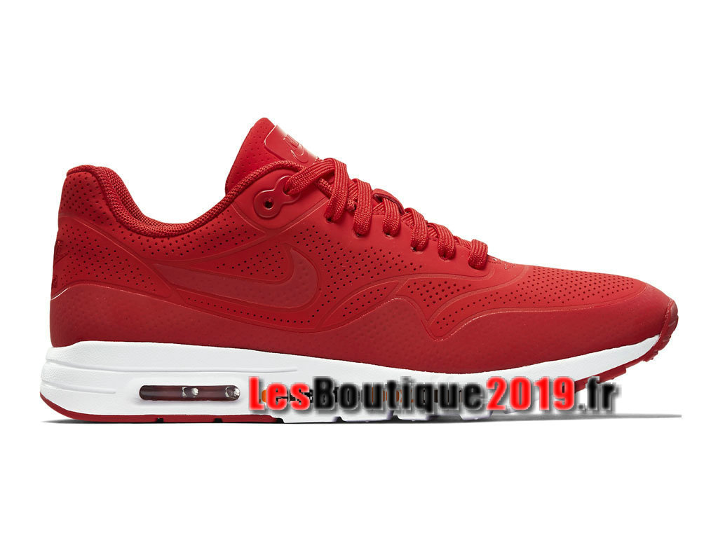 Nike Air Max 1 Ultra Moire GS Rouge Chaussures Nike Running Pas Cher Pour Femme/ ...