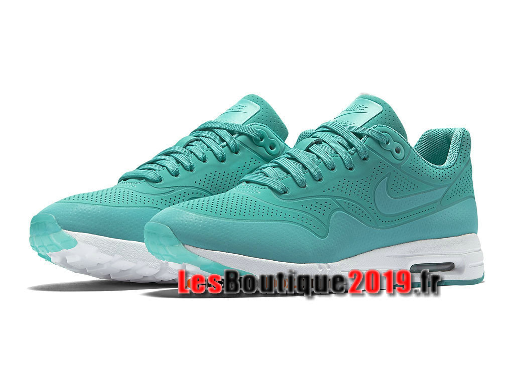 low priced 9f8e5 01172 ... Nike Air Max 1 Ultra Moire GS Vert Chaussures Nike Running Pas Cher  Pour Femme