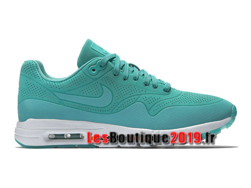 Nike Air Max 1 Ultra Moire GS Vert Chaussures Nike Running Pas Cher Pour Femme/Enfant 704995-401