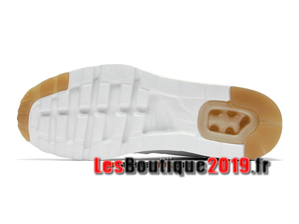 Nike Air Max 1 Ultra Moire iD Brun Blanc Chaussures de BasketBall Pas Cher Pour Homme 705297-999iD