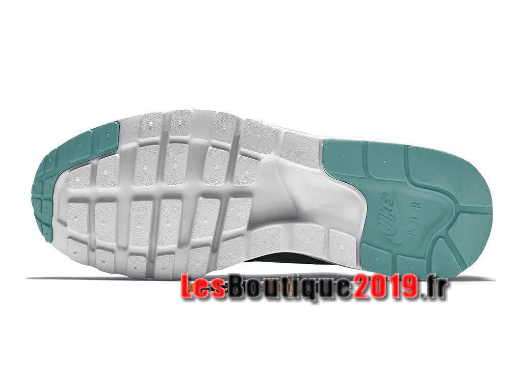 detailed look 1e617 3cc97 ... Nike Air Max 1 Ultra Moire iD GS Vert Blanc Chaussures Nike Sportswear  Pas Cher Pour