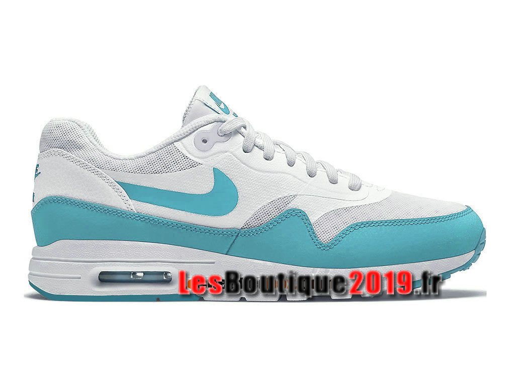 best website cc028 15838 Nike Air Max 1 Ultra Moire iD GS Vert Blanc Chaussures Nike Sportswear Pas  Cher Pour ...