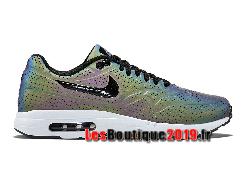 Nike Air Max 1 Ultra Moire QS Iridescent GS Gris Chaussures Nike Sportswear Pas Cher Pour ...