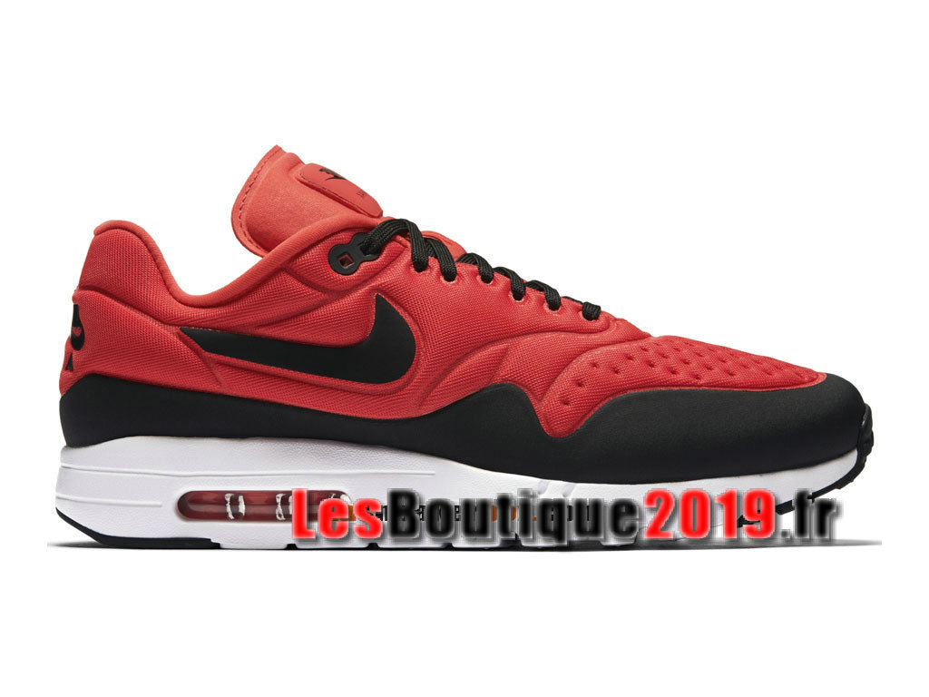 newest collection 5687f 1fc02 Nike Air Max 1 Ultra SE Red Black Men´s Nike BasketBall Shoes 845038- ...