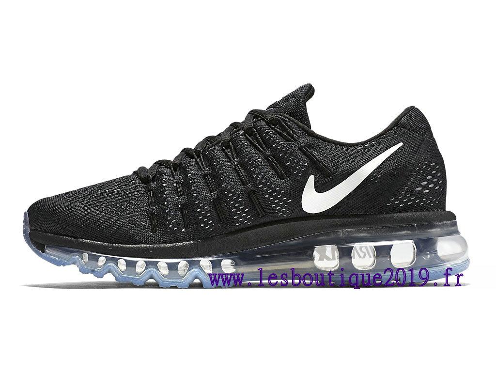 pas cher pour réduction e9ea0 ecf02 Nike Air Max 2016 Noir Blanc Chaussures de BasketBall Pas Cher Pour Femme  806772_001 - 1810291006 - Achetez de Chaussure de Baskets ! Nike en ligne!