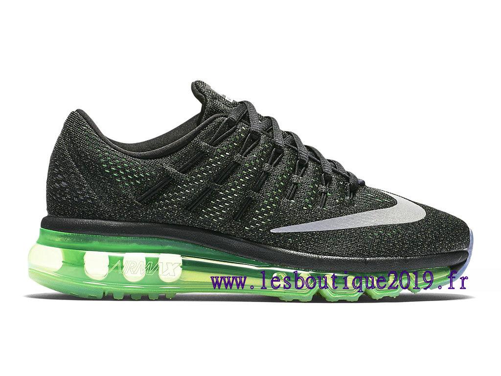 half off 2f04d 29df9 Nike Air Max 2016 Black Green Women´s Nike Running Shoes 807236 003