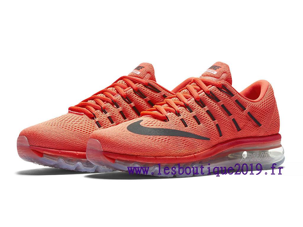 Nike Air Max 2016 GS Women´s Cheap Running Shoes Red Black 806772_600