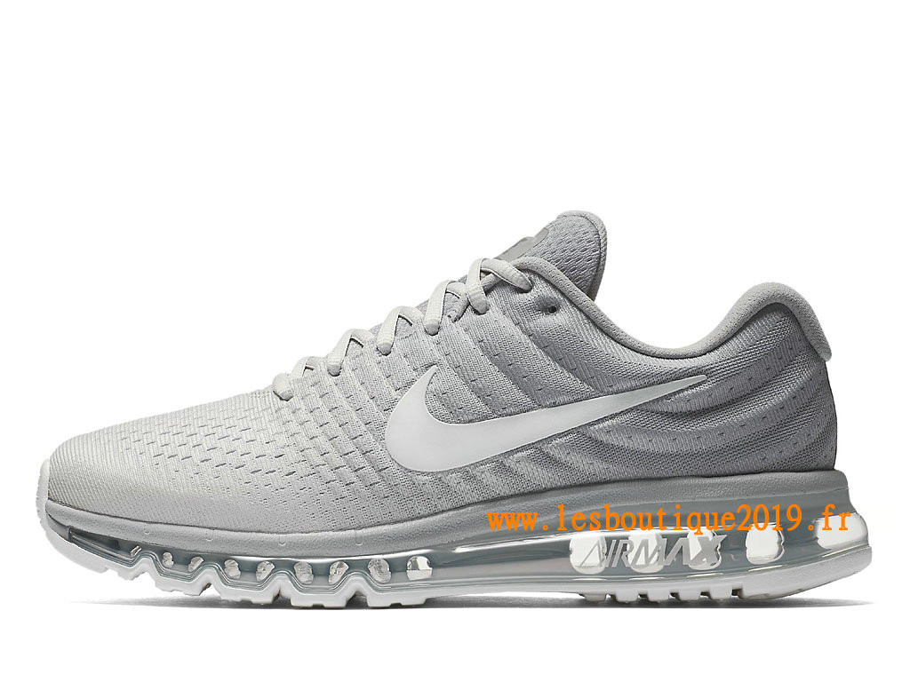 Nike Air Max 2017 Chaussures Nike Running Pas Cher Pour Homme Blanc 849559_005