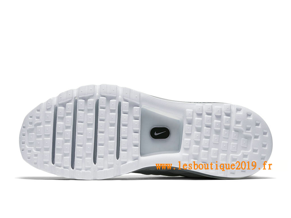 Nike Air Max 2017 Chaussures Nike Running Pas Cher Pour Homme Blanc Gris 849559_009
