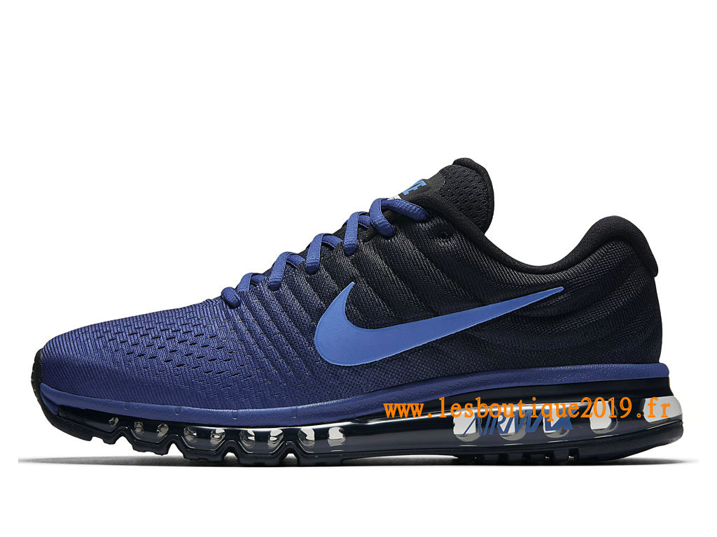 Nike Air Max 2017 Chaussures Nike Running Pas Cher Pour Homme Bleu 849559_401