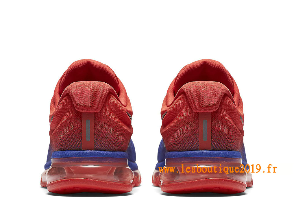 Nike Air Max 2017 Chaussures Nike Running Pas Cher Pour Homme Bleu Rouge 849559_402