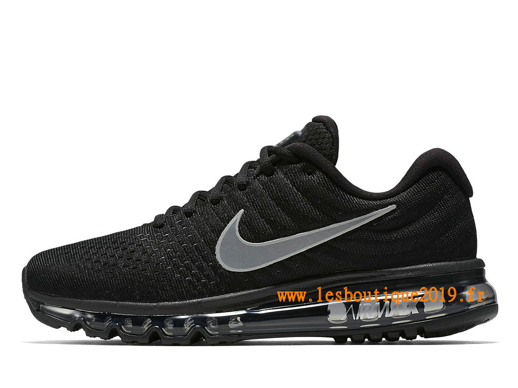 Nike Air Max 2017 Chaussures Nike Running Pas Cher Pour Homme Noir Blanc 849559_001