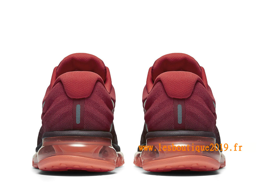 Nike Air Max 2017 Chaussures Nike Running Pas Cher Pour Homme Rouge 849559_601