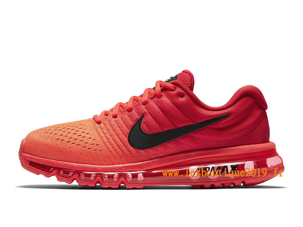 Nike Air Max 2017 Chaussures Nike Running Pas Cher Pour Homme Rouge Noir 849559_602